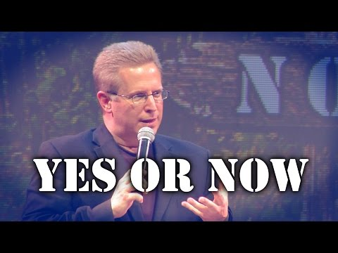 """Yes Or Now"" – Pastor Raymond Woodward"