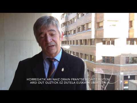 Videoblog Koldo Martínez: felicitacions, Euskera (français)