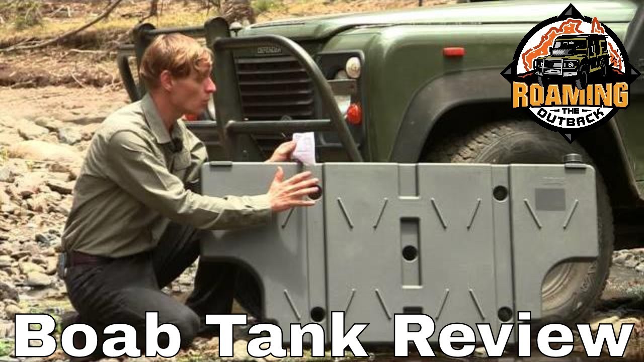 Boab 42 Litre Poly Water Tank Review Youtube