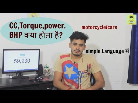 what is power/torque/BHP/cc ? explain.