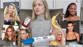 I try WEIRD celebrity PREGNANCY cravings...