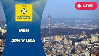 JPN v USA - 2017 Men's World Grand Champions Cup
