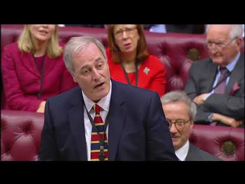 Lord Bates resigns after being two minutes late. (Subtitled)
