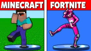 Minecraft Battle: NOOB vs PRO vs HACKER: EPIC EMOTES AND DANCE CHALLENGE in minecraft / Animation