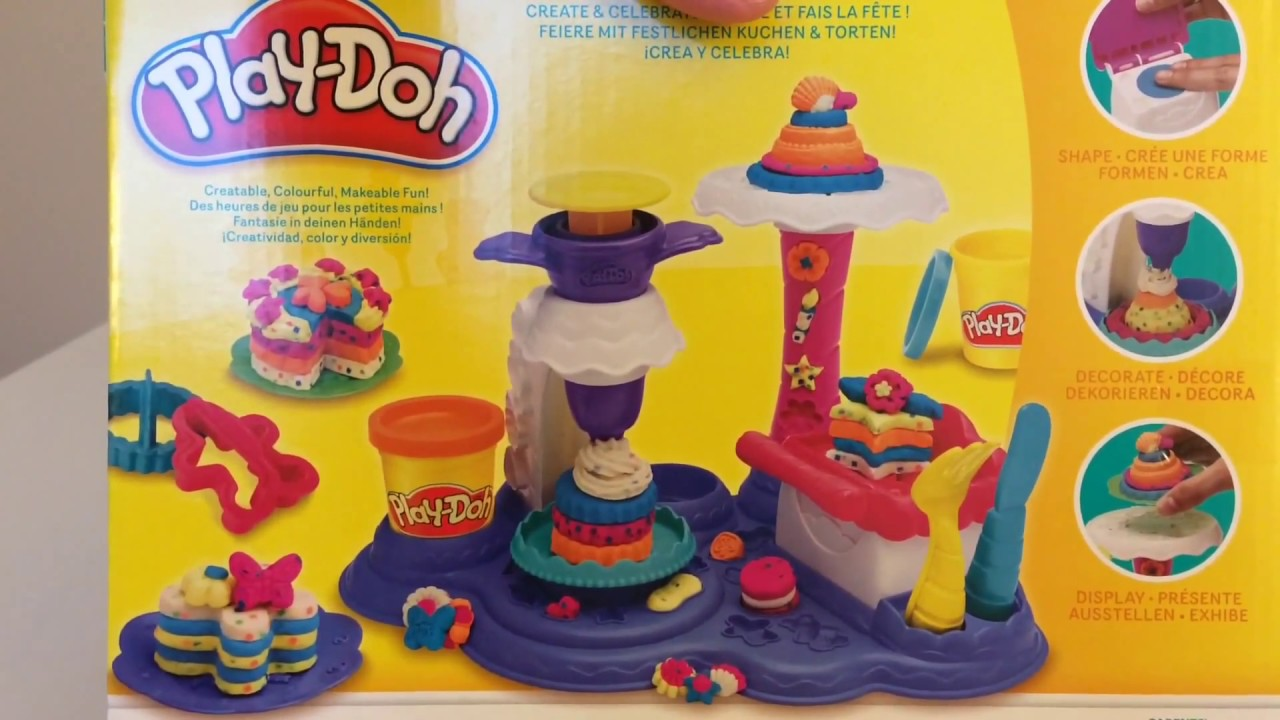 Play Doh Küchenparty Play Doh Cake Party Kuchen Party Unboxing Auspacken