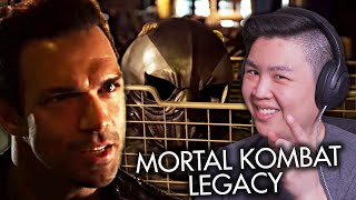 Mortal Kombat: Наследие. Эпизод 1 - Джакс, Соня и Кано [РЕАКЦИЯ]