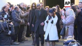 Funeral mass for slain American ends in Florence