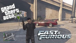 Fast and Furious 6 dans GTA5 : avoir la Dodge Charger Daytona 'Superbird' de Dom Toretto - Mrjksaw