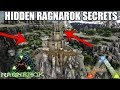 ARK HIDDEN RAGNAROK SECRETS! - CAVES - BASE BUILDS AND MORE! (Ark: Survival Evolved)