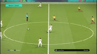 Albania vs Colombia - FIFA World Cup - PES 2018 gameplay