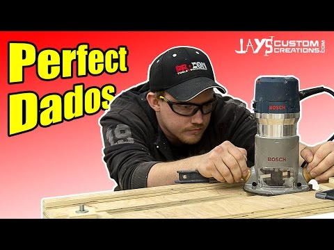 Perfect Dados With A Router Dado Jig - 181