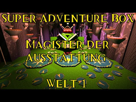 Guild Wars 2: Super Adventure Box - Magister der Austattung, Welt 1
