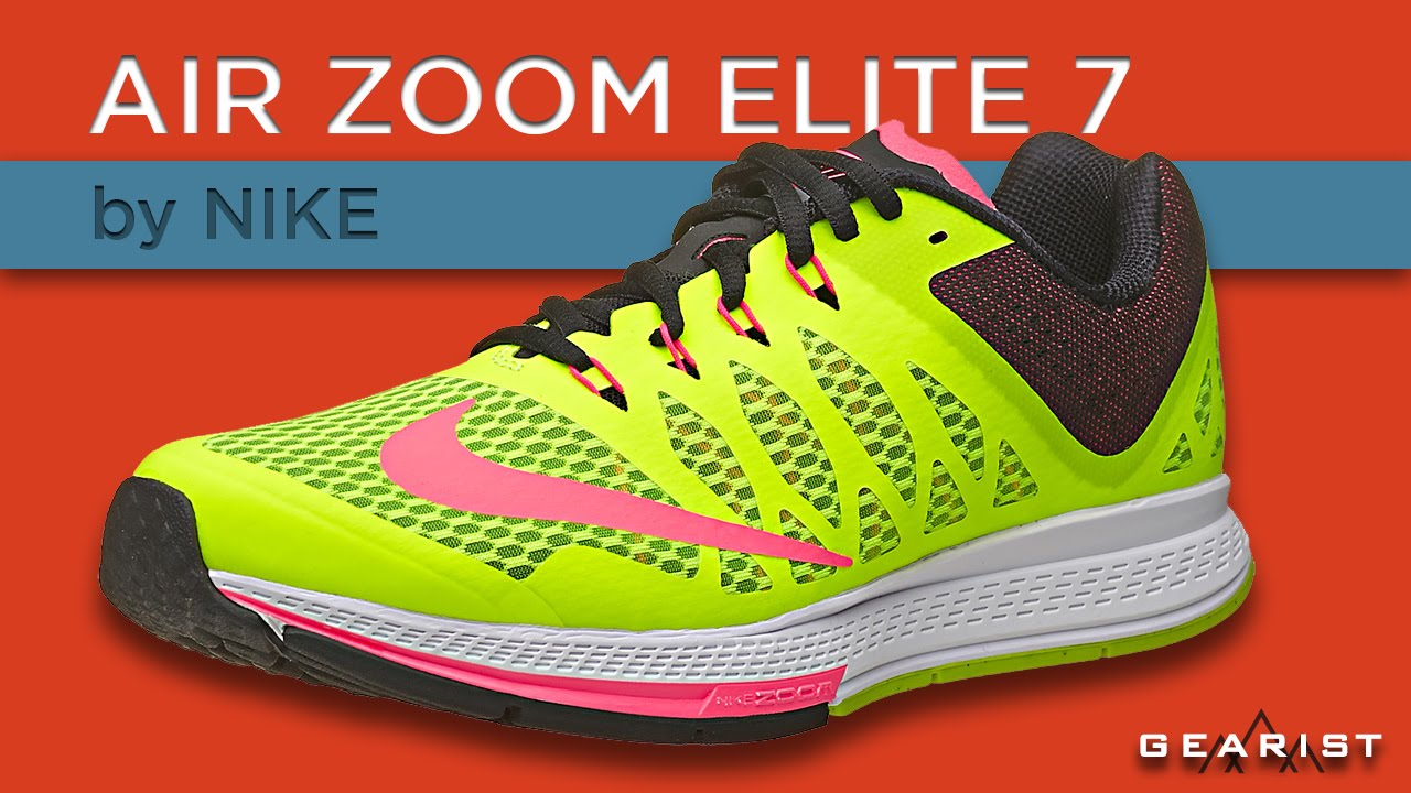 4ef9ddf65dc NIKE AIR ZOOM ELITE 7 RUNNING SHOE REVIEW - Gearist - YouTube