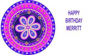 Merritt   Indian Designs - Happy Birthday
