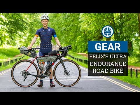 Felix's Epic 2000km Ultra-Endurance Lauf Race Bike | 2019 TransAtlantic Way