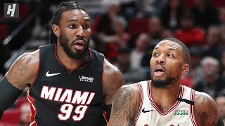 Miami Heat vs Portland Trail Blazers - Full Game Highlights | February 9, 2020 | 2019-20 NBA Season