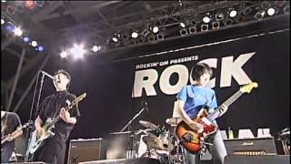 NUMBER GIRL - 鉄風 鋭くなって (ROCK IN JAPAN FESTIVAL 2002) LIVE