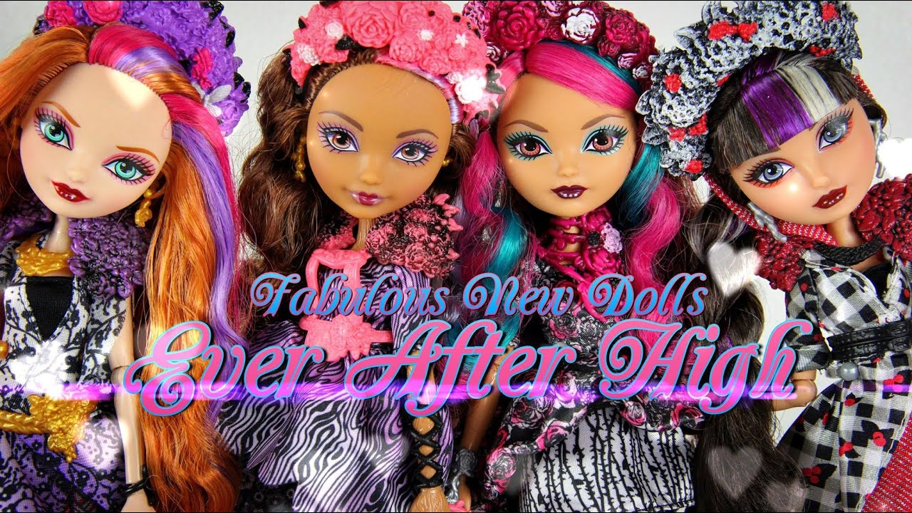 Doll Review Ever After High Spring Unsprung Youtube