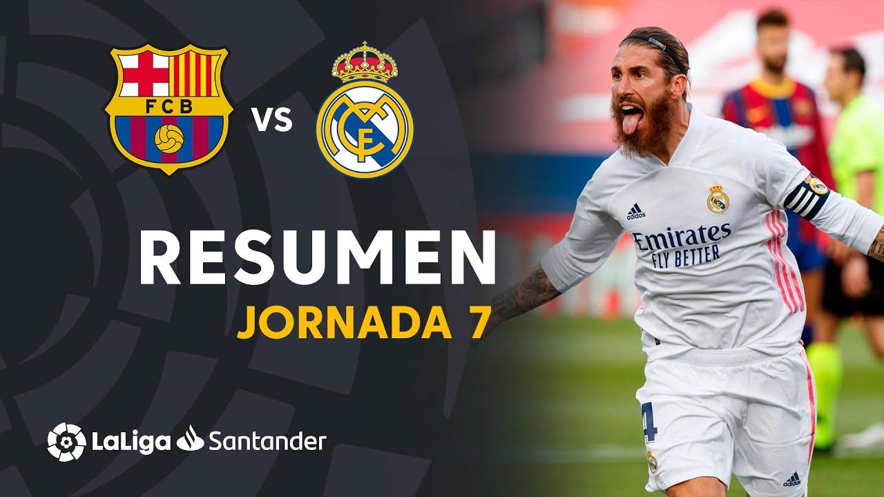 Resumen de FC Barcelona vs Real Madrid (1-3)