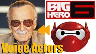 """Big Hero 6"" Voice Actors and Characters"