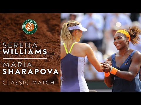 Classic Match : Serena Williams vs Maria Sharapova | Roland-Garros 2013