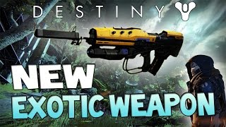 "Destiny ""No Time To Explain"" EXOTIC Pulse Rifle! NEW Exotic Weapon in the Taken King"