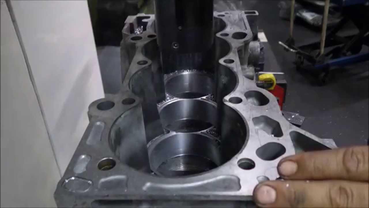 Veicomer - Honda K24 - Aplicação de camisas Darton