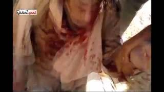 Exclusive Lynching Gaddafi frame-by-frame War Crime.SOK VIDEO