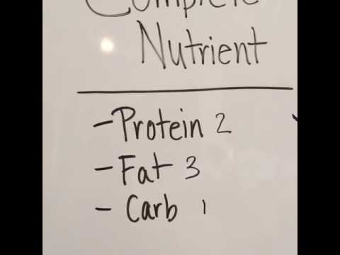 Complete Nutrients- How to make a complete nutrient meal