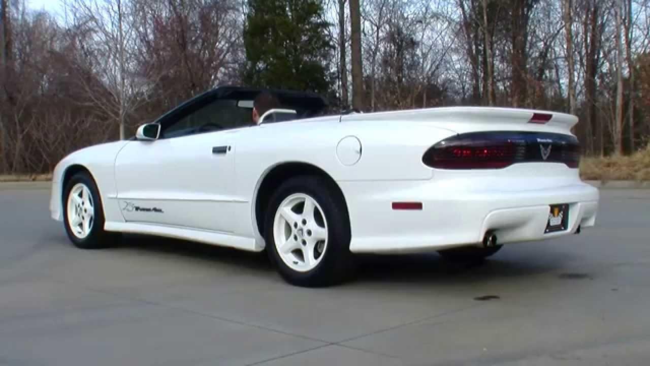 1994 pontiac firebird trans-am, 25th anniversary edition, 350 cid.