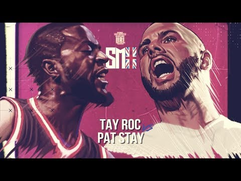TAY ROC VS PAT STAY SMACK RAP BATTLE   URLTV