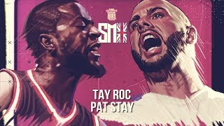 TAY ROC VS PAT STAY SMACK RAP BATTLE | URLTV