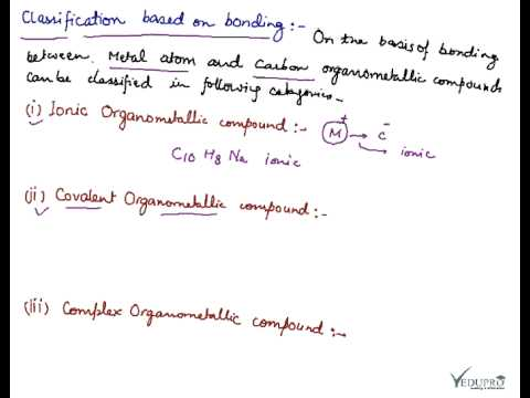 Organometallic Compounds, Introduction to Organometallic Compounds