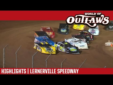 World of Outlaws Craftsman Late Models Lernerville Speedway September 3rd, 2016 | HIGHLIGHTS