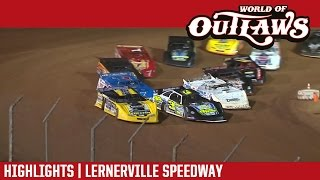 World of Outlaws Craftsman Late Models Lernerville Speedway Highlights