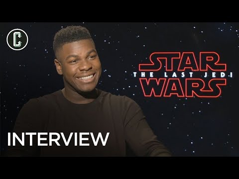 John Boyega on Star Wars: The Last Jedi & When He's Coming on Collider Jedi Council