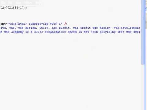 HTML Meta By Eric Hamilton