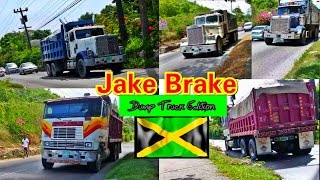 Jake Brake Compilation - Dump Truck Edition #Jamaica Part 3