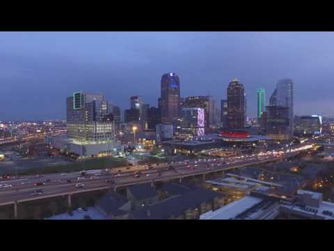Uptown Dallas From a Bird's Eye View
