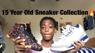 15 Year Old Sneaker Collection🔥