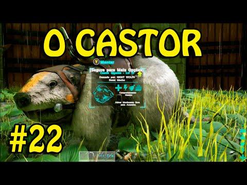 ARK SURVIVAL EVOLVED XBOX ONE - O CASTOR SOBREVIVENDO NA SELVA 22