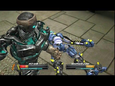 Real Steel-VICTORY DANCE OF THE ATOM vs SHAGOJYO(ЖИВАЯ СТАЛЬ)-XBOX360/PS3