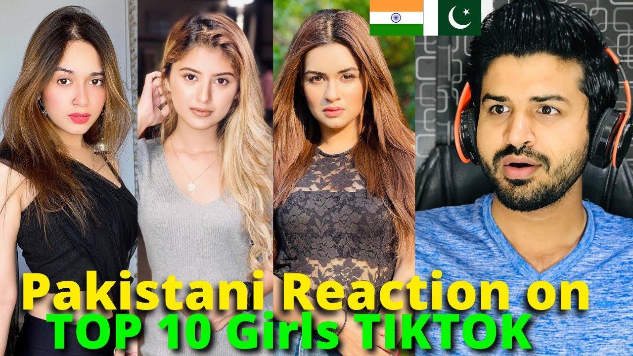Pakistani React on Indian TOP 10 Beautiful Girls TIKTOK VIDEOS | Jannat , Arishfa | Reaction Vlogger