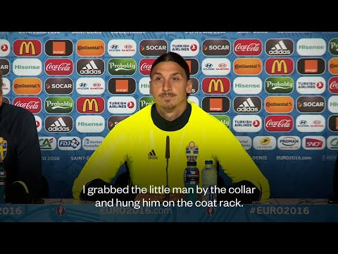 Zlatan Ibrahimovic reveals a story from the locker room about Messi