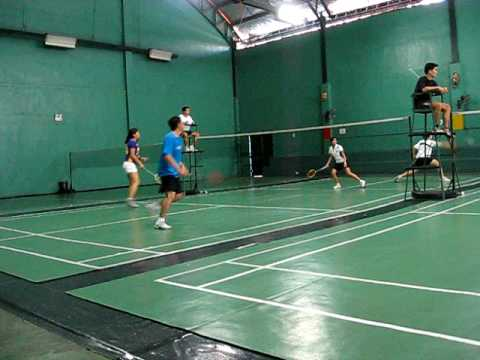 adgt vs. globe badminton tournament