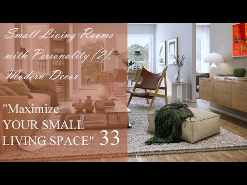 Small Living Rooms with Personality (2)   Modern Décor   Maximize Your Small Living Space #33