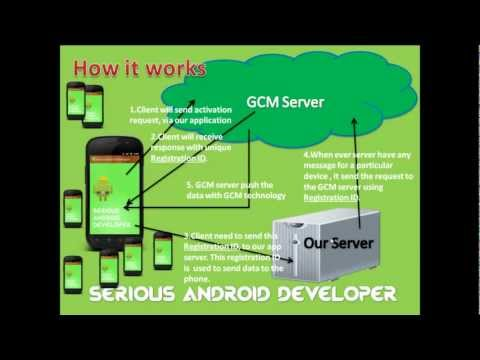 Google Cloud Messaging, Android Simple Tutorial for beginner