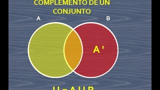 Diagrama de venn videos complemento de un conjunto en el diagrama de venn ccuart Images