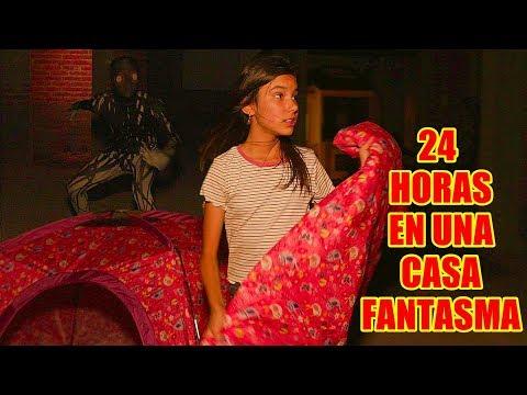 24 HORAS EN UNA CASA FANTASMA   TV Ana Emilia