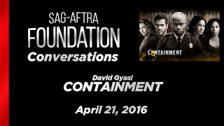 Conversations with David Gyasi of CONTAINMENT